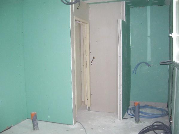 la cloisons ct salon avec larche entresalon le coin douche 100x120 dans la salle de bain