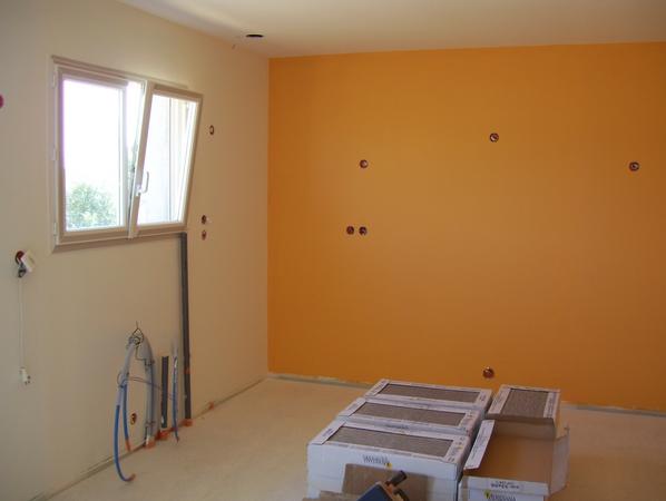 Le chantier - Couleur de peinture pour maison ...